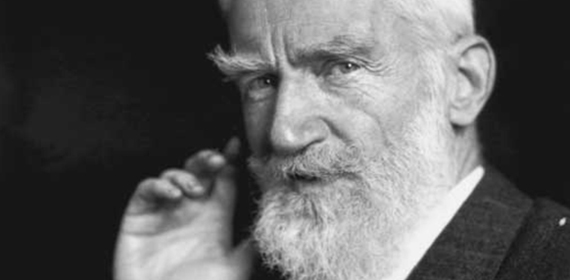 George Bernard Shaw. Shaw Theatre, Niagara on the Lake.