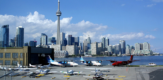Toronto Billy Bishop Airport will connect with Niagara's daily flights.
