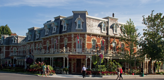 The Prince of Wales Hotel in Niagara on the Lake.